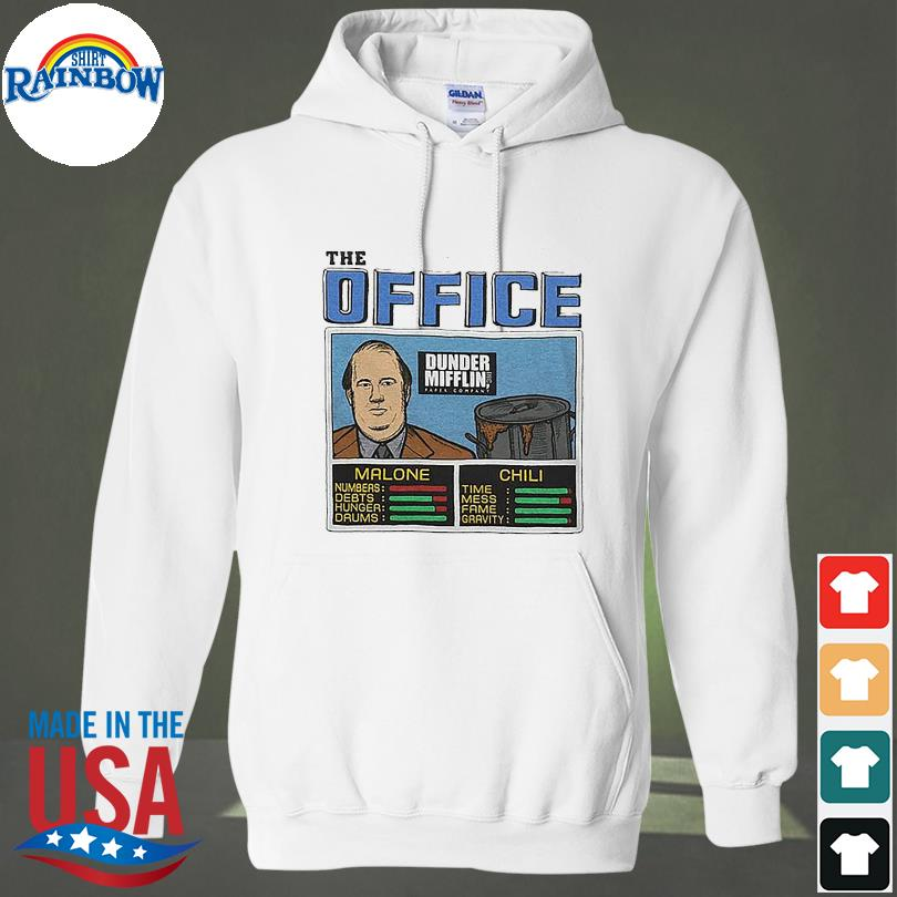 Official The Office Dunder Mifflin s hoodie