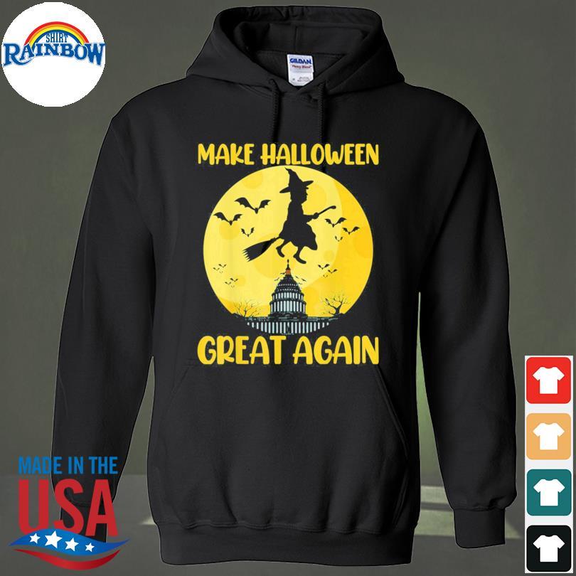 Donald Trump Make Halloween Great Again Halloween Moon s hoodie